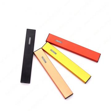 Wholesale Custom Logo E-Cigarette Stick Disposable Flat Vape Pen